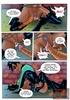 Super Villain chick gets cornered by randy villain…