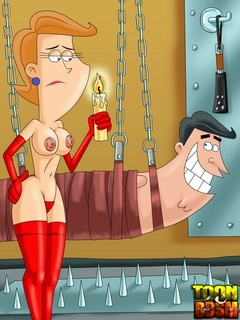 Cosmos and Wanda get kinky using electric, - Cartoon Sex - Picture 3