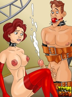 Kent, Annie and Dean in spicy hot sexual - Cartoon Sex - Picture 2