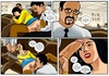 Slim Indian chick gets gangbanged in the office