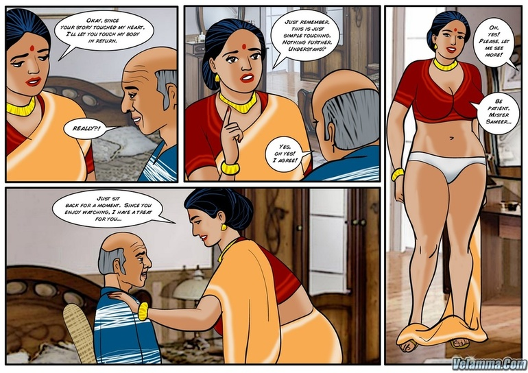 Chubby Indian bitch fucking with an older guy - Picture 3