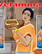 Dirty Indian housewife fucking with two old boys