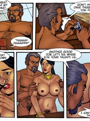 Indian babe with a plait getting banged dirtily - Picture 3