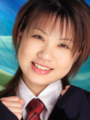 Smiley Asian teenies undress on - Sexy Women in Lingerie - Picture 2