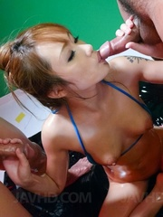 Guys uses dildo and oils on slim - Sexy Women in Lingerie - Picture 4