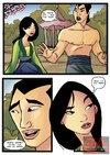 Mulan and Shang in hot sucking action as Mulan…