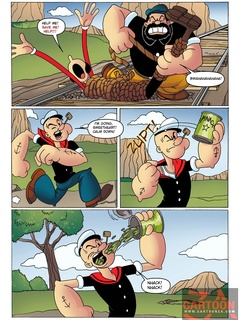 Powerful Popeye defeats big bad villain to - Cartoon Sex - Picture 1