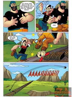 Powerful Popeye defeats big bad villain to - Cartoon Sex - Picture 2