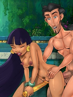 Chief Tannabok, Miguel and Tulio all have fun - Cartoon Sex - Picture 2
