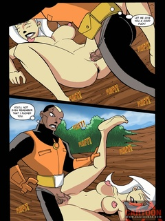 Hot Fucking action as Drew Saturday�s - Cartoon Sex - Picture 3