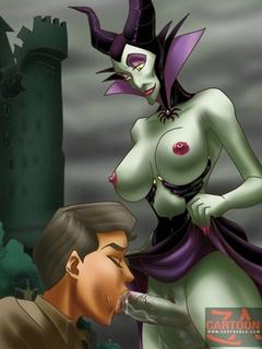 Princess Aurora riding prince - Cartoon Sex - Picture 2