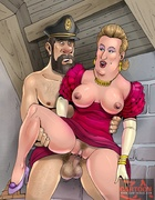 Slutty Bianca Castafiore gets fucked by Tin Tin,…