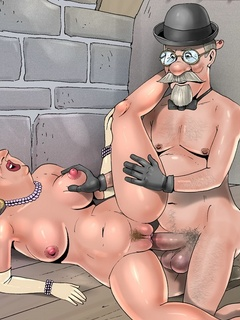 Bianca Castafiore fucks and sucks the - Cartoon Sex - Picture 2