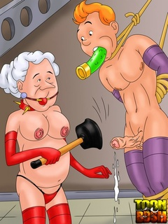 Naughty Mrs Snowball and Bianca queen over - Cartoon Sex - Picture 2
