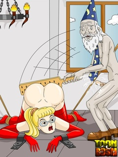 Callie fucks Mark�s ass with strap on - Cartoon Sex - Picture 3