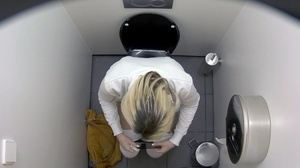 Hidden camera spies on gorgeous looking girls on the toilet. - XXXonXXX - Pic 3