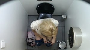 Skinny beauties getting spied on in the toilet. - XXXonXXX - Pic 3