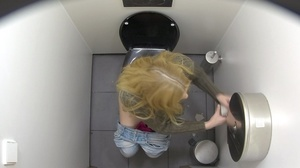 Skinny beauties getting spied on in the toilet. - XXXonXXX - Pic 4