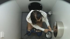 Gorgeous beauties getting spied on in the toilet. - XXXonXXX - Pic 2