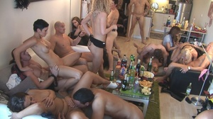 Hot czech babes with gorgeous bodies getting hardcore fucked in an orgy. - XXXonXXX - Pic 4