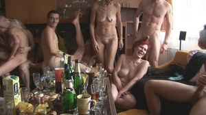 Luscious czech girls getting ready to get hardcore fucked in an orgy. - XXXonXXX - Pic 1