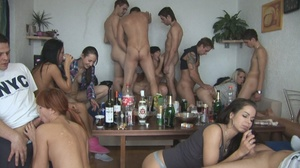 Horny czechs enjoying themselves in an hardcore orgy.e - XXXonXXX - Pic 1