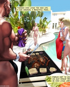 Cool adult comics with huge black guy - Cartoon Sex - Picture 1