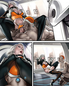 Cool drawn fucking scenes with blonde beauty - Cartoon Sex - Picture 3