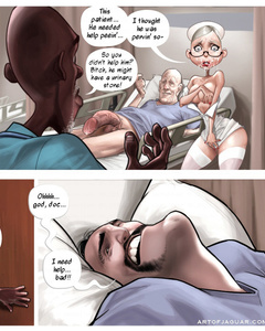 Dirty porn comics about slutty nurse and her - Cartoon Sex - Picture 3