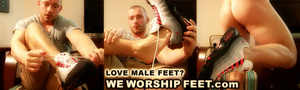 Stunning dude exposing his beautiful feet passionately. - XXXonXXX - Pic 1