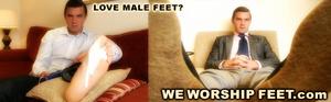 Randy dudes displaying their magnificent feet lusciously. - XXXonXXX - Pic 2