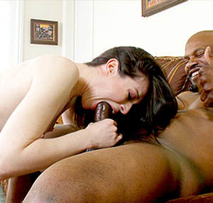 This brunette whore love either black schlong or sweet snatches - XXXonXXX - Pic 2