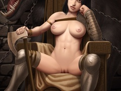 Huge toon monster banging hard cute busty - Cartoon Sex - Picture 4