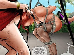 Two fat old bitches humiliating badly a - Cartoon Sex - Picture 2