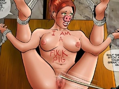 Two fat old bitches humiliating badly a - Cartoon Sex - Picture 3