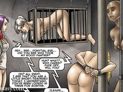 Dirty men beating and jeering poor girls from - Cartoon Sex - Picture 3