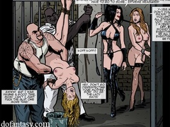 Hot cartoon chicks getting jeered and fucked - Cartoon Sex - Picture 2