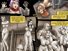Cartoon enslaved girls seem to be in the bdsm - Cartoon Sex - Picture 3