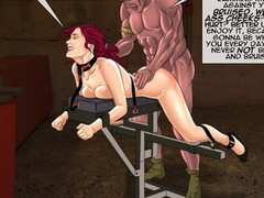 Chick in karada bondage getting her pussy and - Cartoon Sex - Picture 3