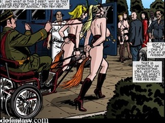 Horny Master trying to choose the best - Cartoon Sex - Picture 1