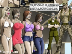 Hot chicks getting seized, bound and gags for - Cartoon Sex - Picture 1