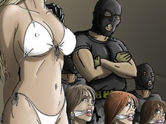 Hot chicks getting seized, bound and gags for - Cartoon Sex - Picture 2