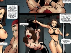 Teen cheerleaders getting gag-balled, bound - Cartoon Sex - Picture 2