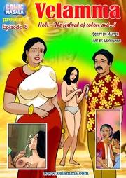 colourful holi festival turns