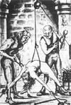 Guys subjecting kinky female slave to sweet pain and extreme bondage