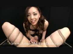 Dirty Asian bitch playing with dude's cock bound - XXXonXXX - Pic 2