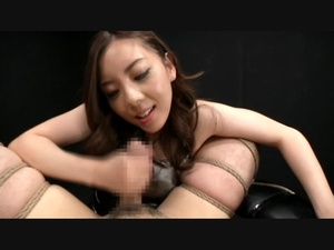 Dirty Asian bitch playing with dude's cock bound in karada style - XXXonXXX - Pic 8