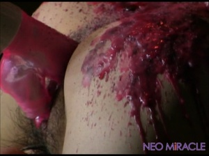 Hogtied Japanese teen tortured with hot wax and a wire vibro - XXXonXXX - Pic 3