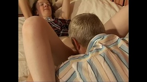 Skinny red milf with shaggy snatch getting it licked and drilled while her husband's out - XXXonXXX - Pic 7