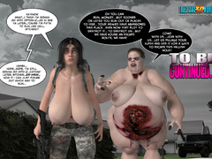 The dirtiest fucking with toon zombie women - Cartoon Sex - Picture 8
